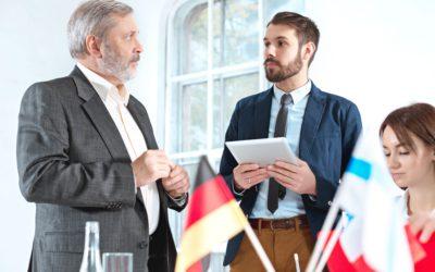 German language training for companies